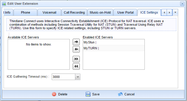 NAT, STUN, TURN, and ICE   Thirdlane - VoIP PBX Software